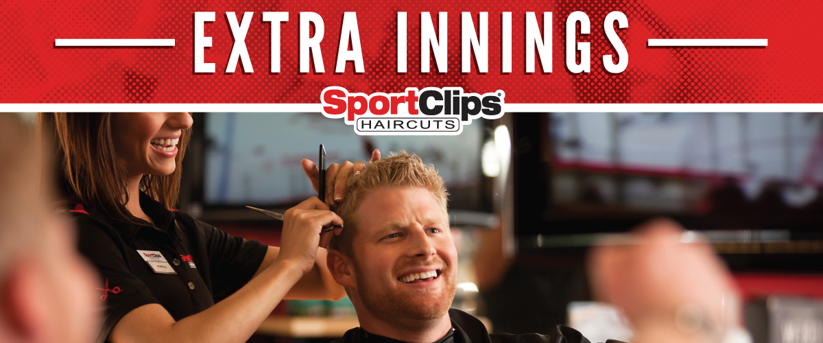 The Sport Clips Haircuts of Austin - South Town Extra Innings Offerings